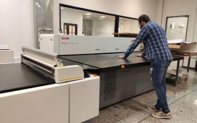 نصب و راهاندازی ماشین تولید جدید